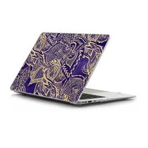 ★Casetify★MacBookケース*Yellow gold hand drawn floral lace