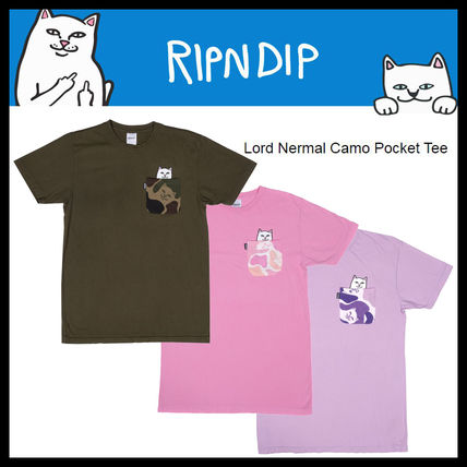 即発送料込 RIPNDIP Lord Nermal Camo Pocket Tee