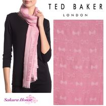 【SALE】TED BAKER*Bowプリントスカーフ