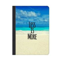 """★Casetify★iPadケース*""""Less is More."""" Black Text"""
