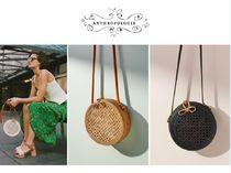 日本未入荷*関税込*Anthropologie Rattan Circle Bag