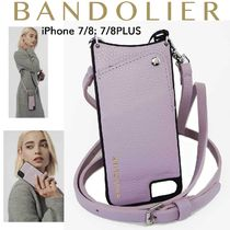 即納Bandolier携帯ショルダーiPhone7/8  .XR  EMMA  Lilack/SIL