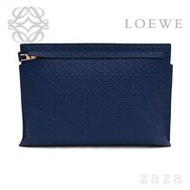LOEWE★ロエベ T Pouch Navy Blue