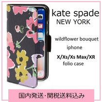 【国内発送】wild flower bouquet iphone folio case