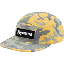 Week1 SS Supreme Washed Out Camo Camp Cap