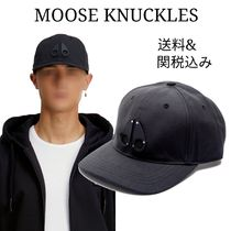 MOOSE KNUCKLES(ムースナックルズ) キャップ 注目ブランド MOOSE KNUCKLES 新作キャップ