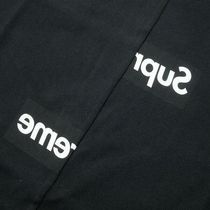 ★Supreme/Comme des Garcons SHIRT Split Box Logo Tee★Black