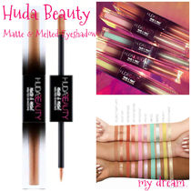 HUDA BEAUTY★Matte & Metal Melted Double Eyeshadows★全10色