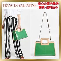 ◆Frances Valentine◆Soft Patent Shopper トート 関税送料込