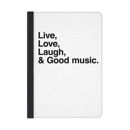 Casetify スマホケース・テックアクセサリー ★Casetify★iPadケース#Live Love Laugh and good music