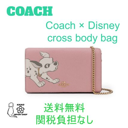【Coach】Coach × Disney cross body bag 【送料関税負担なし】