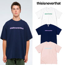 韓国ブランド 日本未入荷 [THISISNEVERTHAT] BUBBLE SP TEE 3COLOR