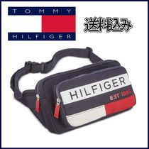 【Tommy Hilfiger】ボディバッグ Colorblocked Waist Pack ロゴ