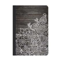 ★Casetify★iPadケース*White floral handdrawn