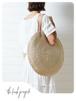 [the beach people]AU発☆カゴバッグ☆Scallop Oversized Bag