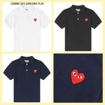 COMME des GARCONS(コムデギャルソン) キッズ用トップス COMME DES GARCONS PLAY キッズ ポロシャツ 国内発送
