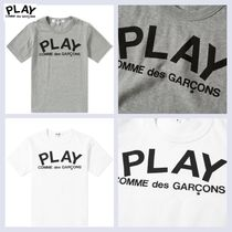 COMME des GARCONS(コムデギャルソン) キッズ用トップス COMME DES GARCONS PLAY キッズ ロゴTシャツ 国内発送