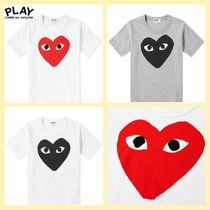 COMME des GARCONS(コムデギャルソン) キッズ用トップス COMME DES GARCONS PLAY キッズ Tシャツ 国内発送