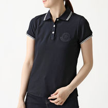 MONCLER 8386061 V8003 778 ポロシャツ ビッグロゴワッペン