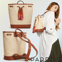 【NEW COLLECTION☆】バックパック【タッセルが目を惹く◎】