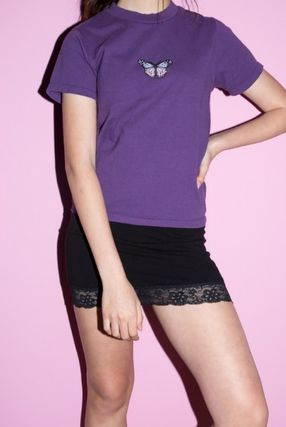 Brandy Melville Tシャツ・カットソー NEW!!  ☆Brandy Melville☆ HELEN BUTTERFLY TOP(2)