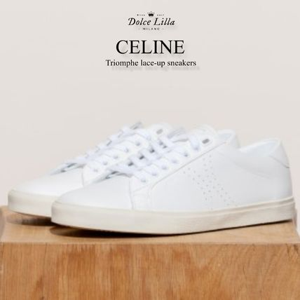 CELINE スニーカー CELINE Triomphe lace-up sneakers