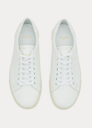CELINE スニーカー CELINE Triomphe lace-up sneakers(4)