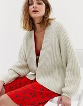 Pieces knitted cardigan