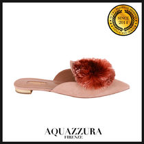 AQUAZZURA アクアズーラ ミュール Powder Puff PWPFLAA