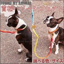 Urban Outfitters取扱★FOUND MY ANIMAL リード首輪セット