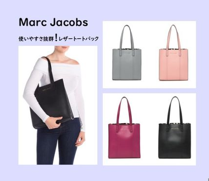 MARC JACOBS Repeat Tote レザートートバック 4色 通勤通学にも