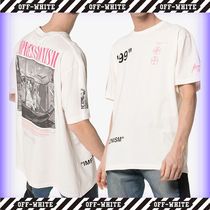 【Off-White】Oversized Off-White BOAT S/S OVER TEE /追跡付