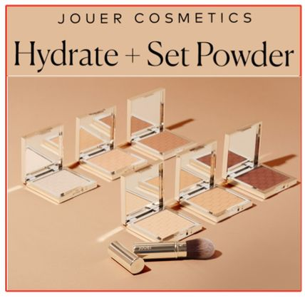 ★JOUER★ Soft Focus Hydrate + Set Powder 6色