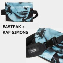 【EASTPAK x RAF SIMONS】☆注目コラボ☆Poster Waistbag Blue