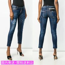 DSQUARED2☆Schmale Distressed jeans ダメージ ジーンズ