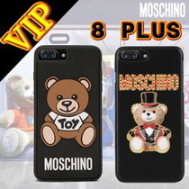 ◆VIP◆ Moschino IPHONE 7PLUS. 8 PLUSカバー テディベア