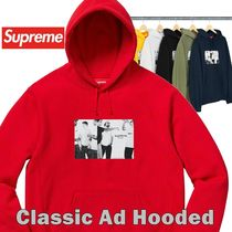Supreme Classic Ad Hooded Sweatshirt SS 19 WEEK 8