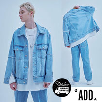 ADD SEOUL RAW EDGED DENIM TRUCKER JACKET MU343 / 追跡付