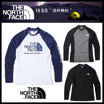 THE NORTH FACE ラッシュガード ★関税込★THE NORTH FACE★M'S PROTECT RASHGUARD★3色★