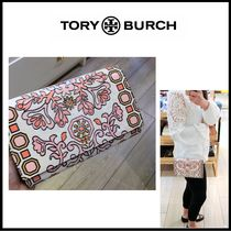 【TORY BURCH】 HICKS GARDEN PARTY チェーンウォレット
