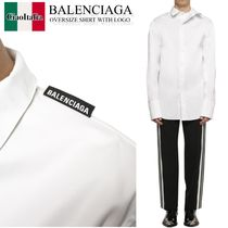 Balenciaga oversized cotton shirt