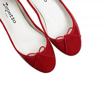 repetto Ballerines Cendrillon (Cuir vernis Rouge flamme)