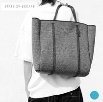 追跡送料込★State of Escape★Cityscape markⅡtoteチャコール