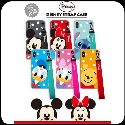 [ DISNEY ] STRAP IPHONE CASE