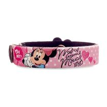 Minnie Mouse Signature Leather Bracelet - Personalizable