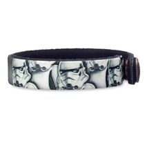 Stormtrooper Leather Bracelet - Star Wars - Personalizable
