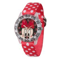 Minnie Mouse Polka Dot Time Teacher Watch - Kids