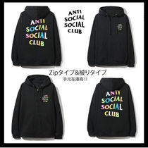 【希少】Anti Social Social Club/ Zip&Hoodei/国内即発