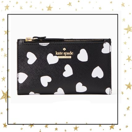 Kate Spade☆コンパクトウォレット☆パスケース付き☆ハート