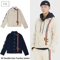 ROMANTIC CROWN ★ RC Double Line Trucker Jacket - 2カラー